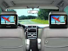 Car DVD Player Dual Screen