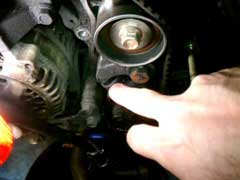 Timing Belt Tensioner Noise